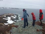 Balade a Terre Neuve avant de traverser vers le Groenland