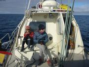 Aurore et Leonie en mer du Labrador