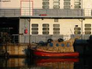 Le plus petit bateau Port Mourmansk