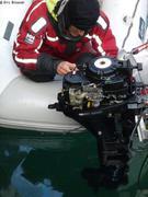 Vidange moteur Cambridge Bay