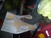 Etude de la carte avec Thorleif