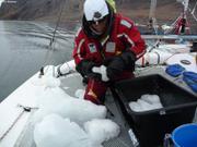 Collecte glace pour eau douce