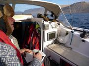 Thorleif dessine ile Baffin