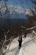 049c Montee vers Kjelvaagtingen