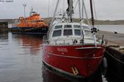 A l'abri a Lerwick aux iles Shetland