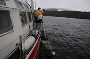 Recuperation canoe naufrage