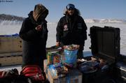Pause gourmande dans fjord Viks