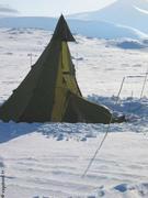 Tente detruite