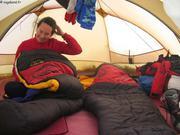 Veille VHF sous la tente