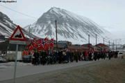 Longyearbyen 17 mai fete nationale norvegienne