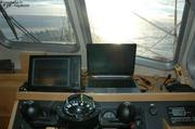 Navigation cap au nord soleil de minuit
