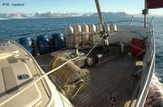 Arrivee Hornsund