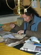 France fabrique gants peau de renne