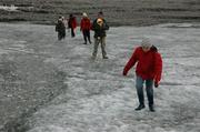 Premiers pas sur glacier
