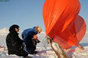 Gonflage ballon helium