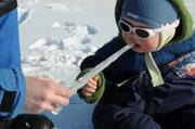 Sucer la glace