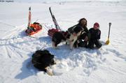 Elin Seb et leurs chiens