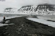 A l'abri devant le glacier Croll