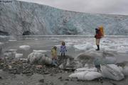 Devant glacier Kjerulf