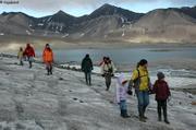 Sur le glacier Kjerulf