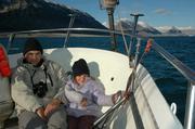 Bain de soleil pour Fred et Marine