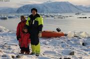 Amelie Nael Herve prets pour nuit polaire