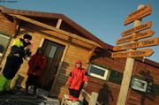 Seule escale entre Longyearbyen et Inglefieldbukta