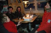 Copains Longyearbyen anniversaire Leonie bis