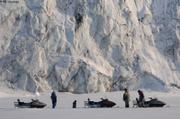 Visite au glacier