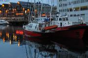 Le Manguier et Vagabond a Tromso by nite