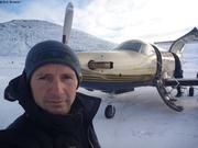 Depart de Qikiqtarjuaq pour l'Antarctique