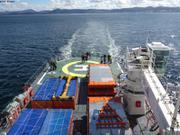Cap plein sud vers l'Antarctique