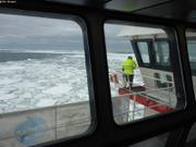 Premiere dans les glaces pour la Marine Nationale depuis 65 ans