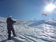s de kite avec Michael Charavin 3 janvier 2019