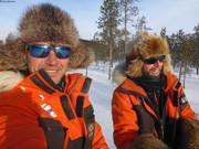 et Gilles camp Arktika mars 2019